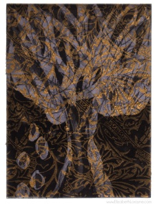 """""""Reflecting on Home in Lavender"""" 2011. 8""""x10"""" etching with chine-collé"""