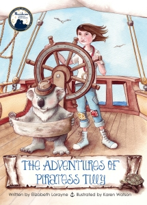 The Adventures of Piratess Tilly cover
