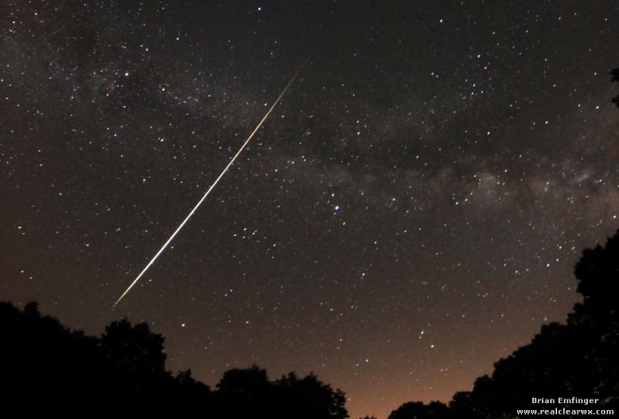 Photo Credit: Brian Emfinger from Lyrid Meteor Shower April 21-22, 2012