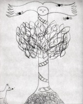 """Totem Phase 1"" 2011. Drypoint, Etching, Aquatint"