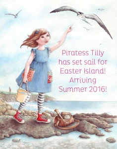 Piratess Tilly Easter Island Promo webpage
