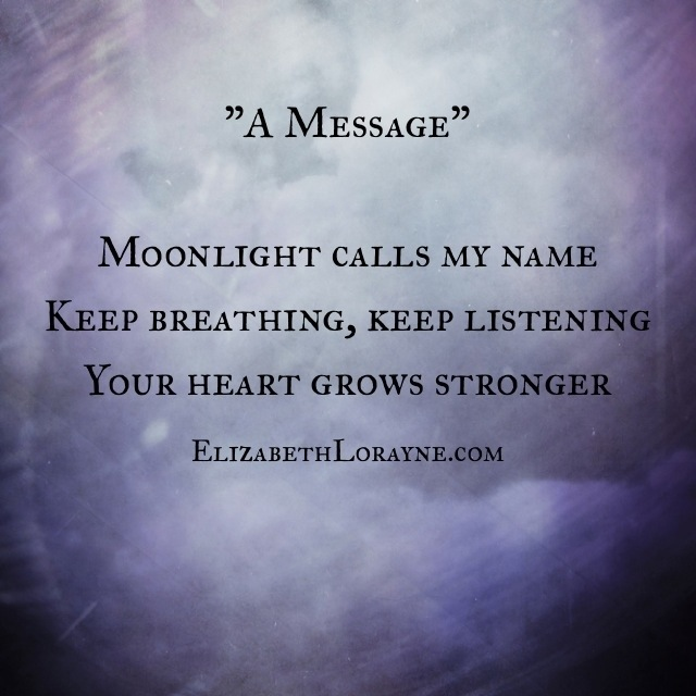 Poetry | Elizabeth Lorayne {artist + writer}