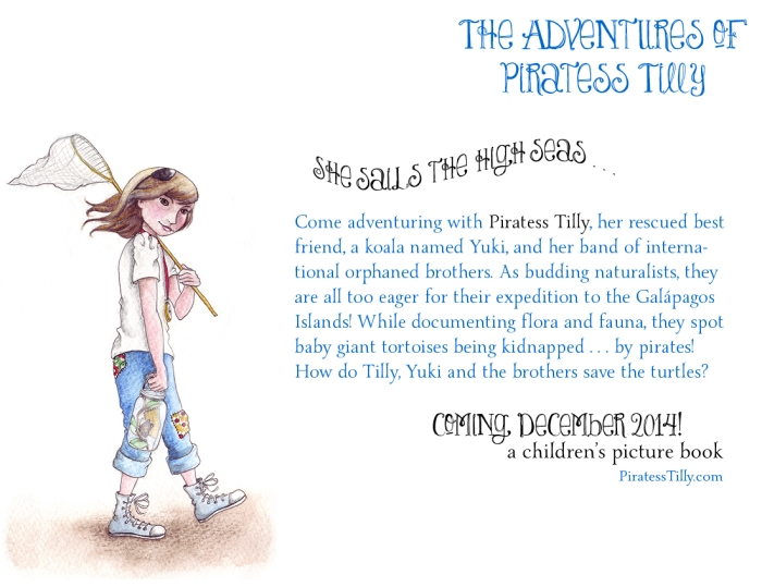 Adventures of Piratess Tilly Synopsis vs1