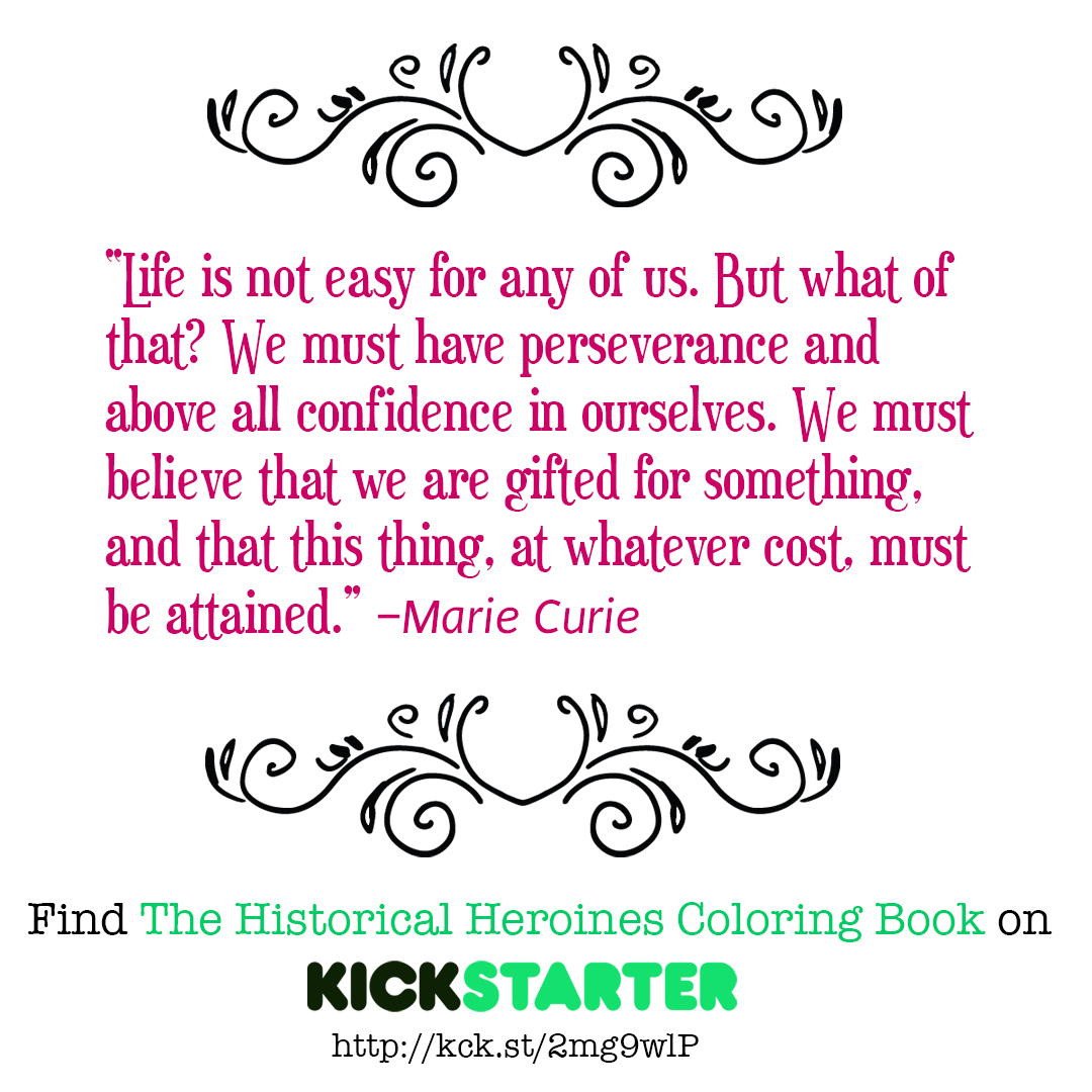 Marie_Curie_Kickstarter_quote