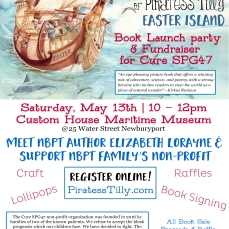 Piratess Tilly Launch Poster